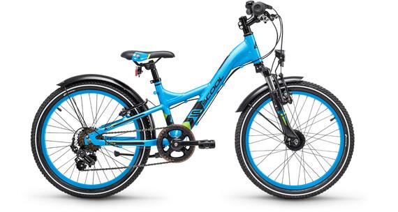 s'cool XXlite 20 7-S - Vélo enfant - alloy bleu